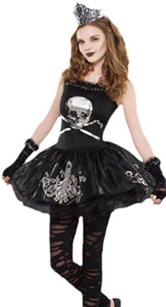 zauberclown  mädchen kostüm zomberina zombie 1112 jahre