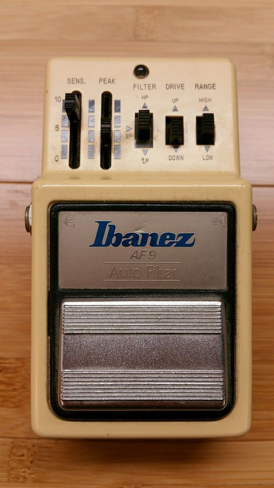 Vintage 80s Japanese IBANEZ AF 9 Auto Filter Touch Wah Envelope Follower AF9 in Musical Instruments & Gear, Guitars & Basses, Parts & Accessories | eBay