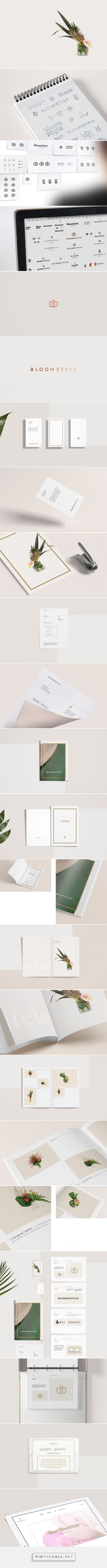 BloomStyle Visual Identity by Aleksey Busygin