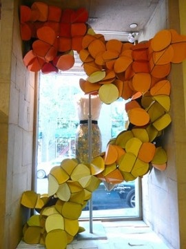 Anthropologie window courtesy of: The Magic of Visual Advertising