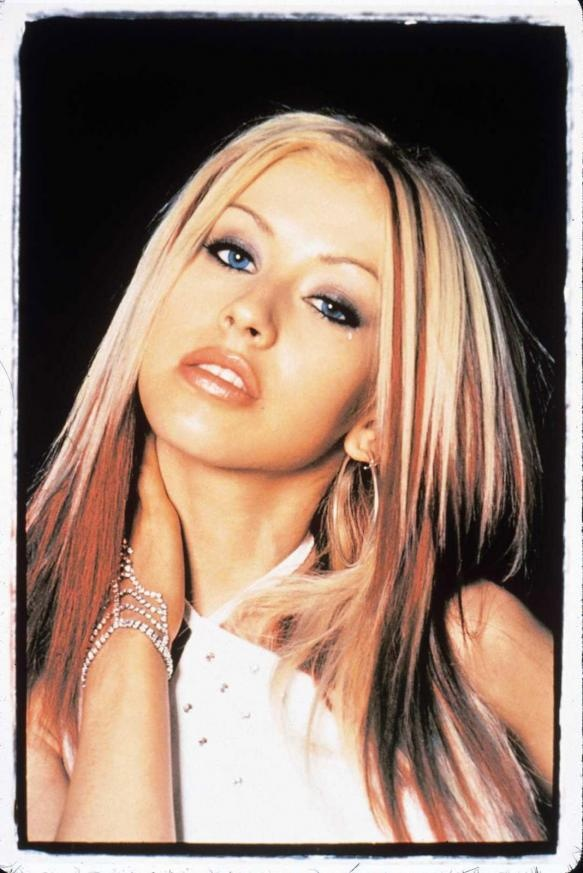 i want my hair like this one day!~!Christina Aguilera