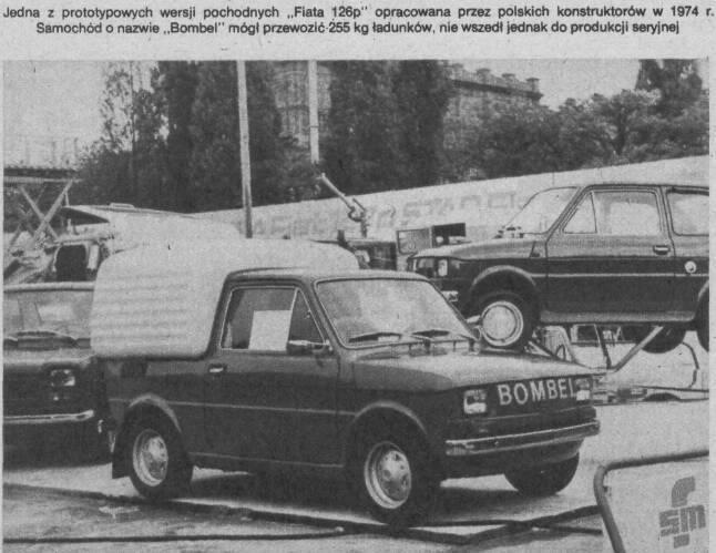 OG   Polski Fiat 126p Bombel pick-up   Prototype