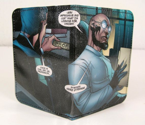 Recycled Comic Strip 5 Pocket wallet mens wallet by andresendesign