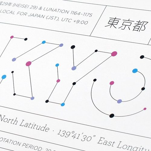 Tokyo's Anaptár Is An Incredibly Detailed Site-specific Poster That Not Only Chronicles The Standard Annual Days An... : #61742 : NOTCOT.ORG-http://www.notcot.org/post/61742/