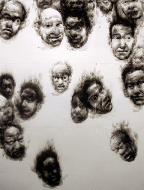 Diane Victor: amazing smoke portraits