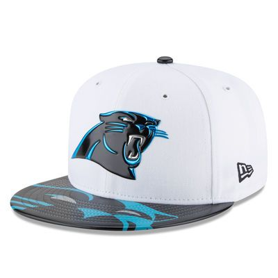 Youth Carolina Panthers New Era White 2017 NFL Draft Official On Stage 59FIFTY Fitted Hat