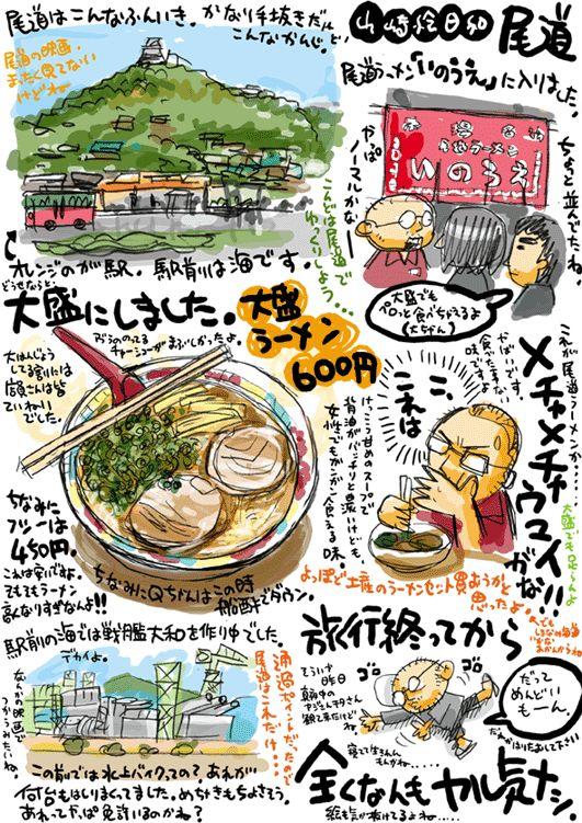 しまなみ海道スタート地点 尾道の画像:山崎絵日和 黎明編