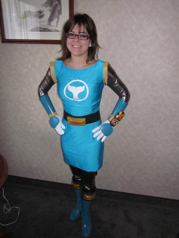 Adorable Tori Hanson Power Rangers Ninja Storm Cosplay