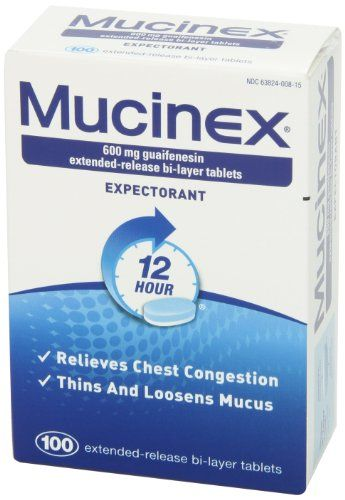 Mucinex 12-Hour Chest Congestion Expectorant Tablets, 100 Count   Multi City Health  List Price: $51.99 Discount: $25.00 Sale Price: $26.99