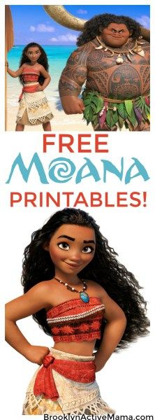 Why I Am Obsessed With Disney's Moana + Free Moana Movie Printables! - Brooklyn Active Mama