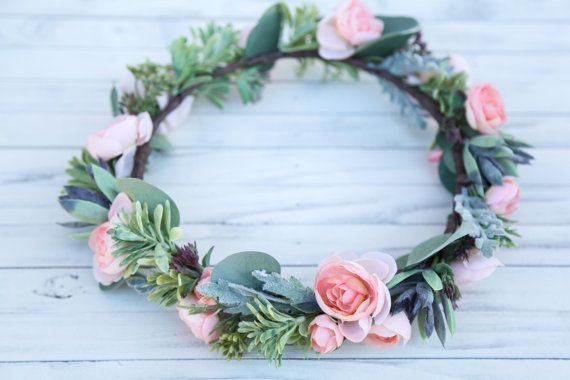 Hey, I found this really awesome Etsy listing at https://www.etsy.com/listing/476252610/succulent-flower-crown-bohemian