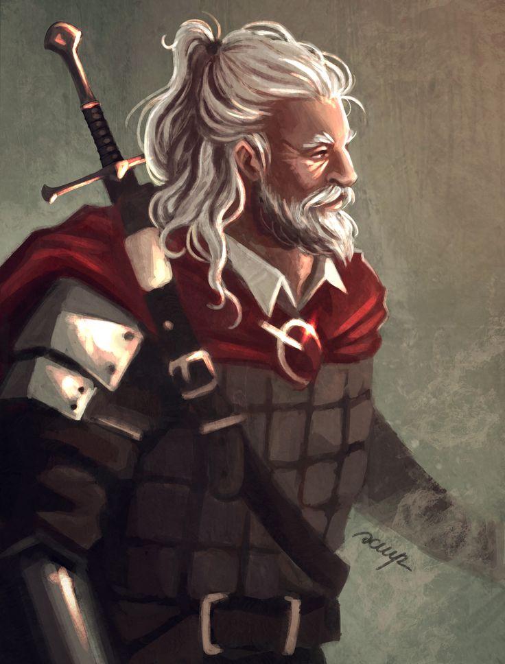 Older swordsman