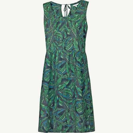 NEW FAT FACE SWAY WILDERNESS DRESS OCEAN TIDE 8 to 16