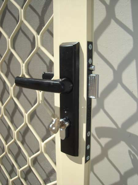 MK3 Tasman screen door lock is evidence that Whitco are constantly trying to improve their products.