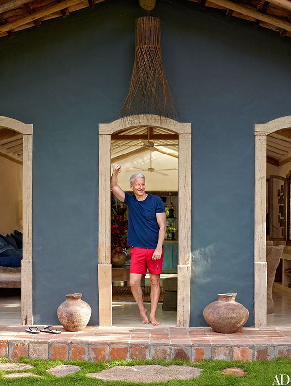 A casa de praia de Anderson Cooper em Trancoso