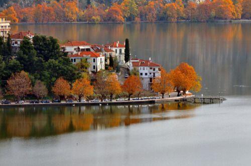 Λιμνη Καστοριας ~ Lake of Kastoria  by © Nikos T