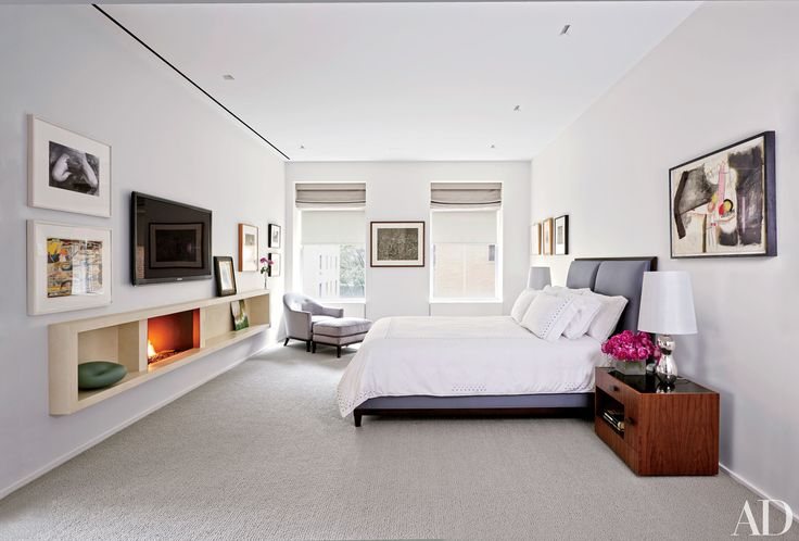 Cozy Bedrooms with Fireplaces   Architectural Digest