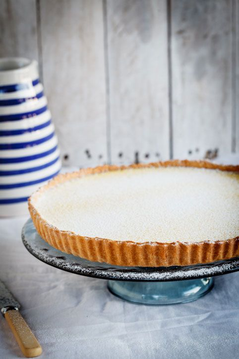 The ultimate lemon tart. Rich, creamy and tangy.