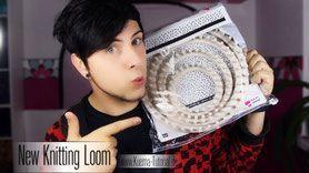 Knitting Loom,Strickring, Häkeln,stricken,Anleitungen,