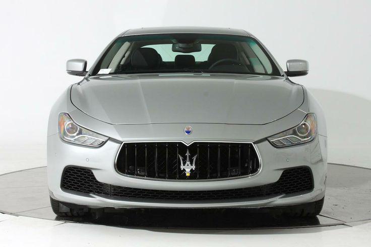 2014 Maserati Ghibli SQ4 AWD S Q4 4dr Sedan Sedan 4 Doors Silver for sale in Fort lauderdale, FL Source: http://www.usedcarsgroup.com/new-maserati-ghibli-for-sale