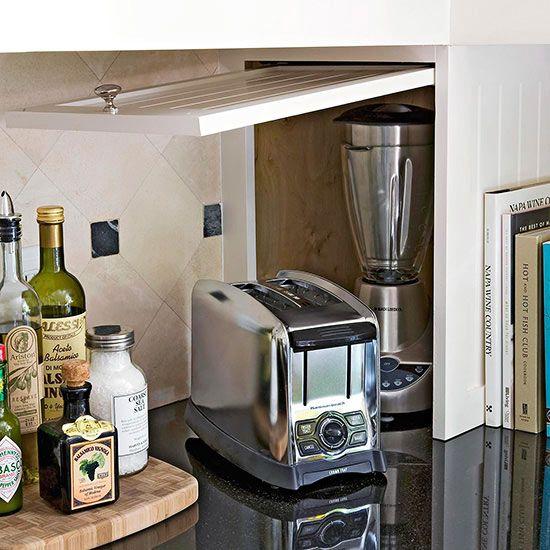 Kitchen Appliance Cabinet: 2219 Best Smart Storage Solutions Images On Pinterest
