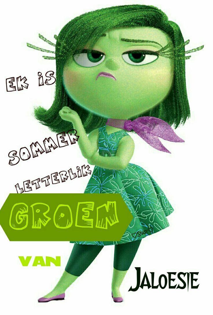 Groen van jaloesie