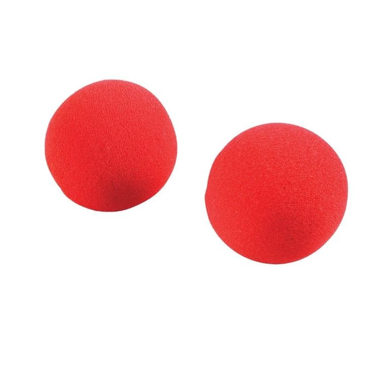 Club Pack of 48 Red Big Top Birthday Clown Nose Party Favors, Kids Unisex