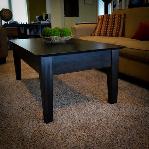 #table #craftsman #HiddenCompartment #secret #stash Java Finish On Maple  #CoffeeTable