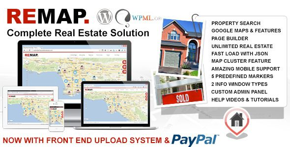 REMAP Real Estate Premium Wordpress Template - Business Corporate