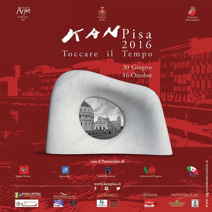 "WE ARE PARTNER COMMUNICATION   Kan Pisa 2016 ""Toccare il Tempo""  |  www.kanpisa.it 🇮🇹 🇯🇵  #marketing #communication #webagency #kanpisa #artexhibition"