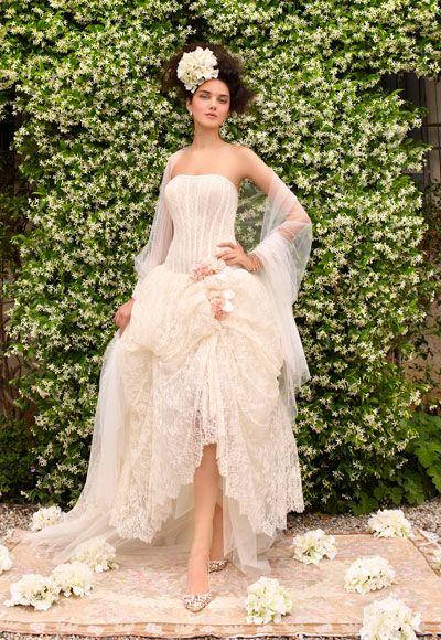 Marie Antoinette style Atelier Aimee wedding gown.