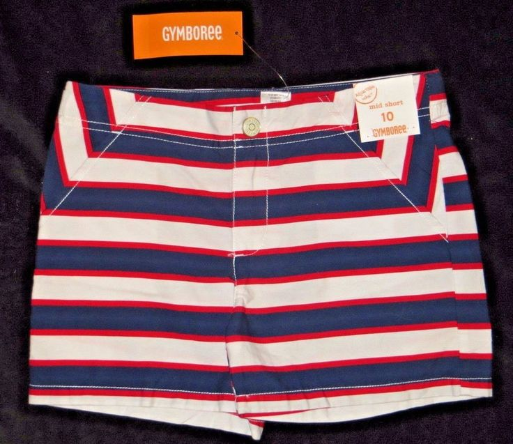 Gymboree Star Spangled Summer Striped 4th of July USA Shorts Size 10 | Clothing, Shoes & Accessories, Kids' Clothing, Shoes & Accs, Girls' Clothing (Sizes 4 & Up) | eBay!