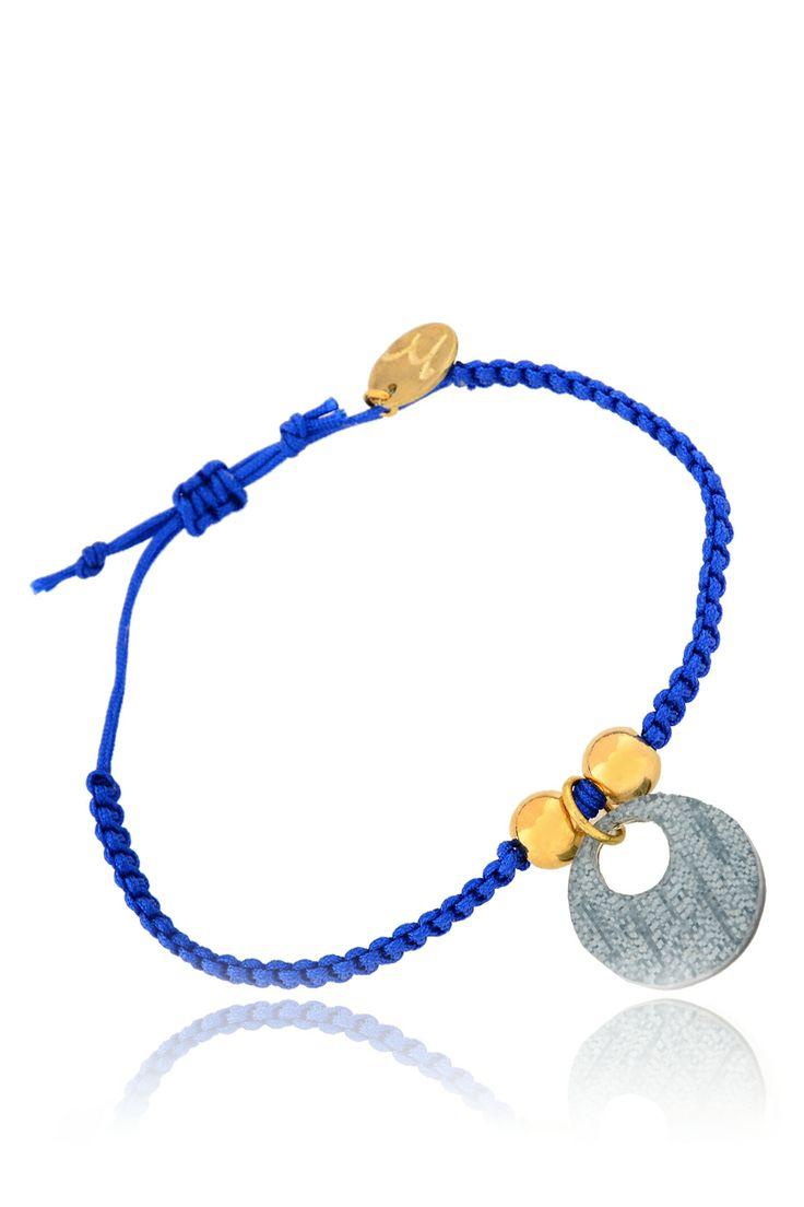 MANCOTÍ  MARIOLA Blue Friendship Bracelet   Price: € 30.00