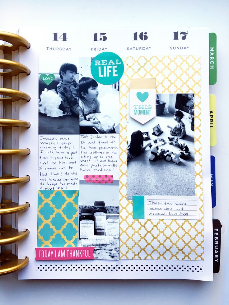 last week in January in The Happy Planner™ of mambi Design Team member Theresa Doan | me & my BIG ideas