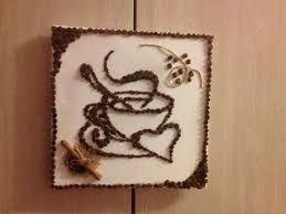 Картинки по запросу панно из кофейных зерен