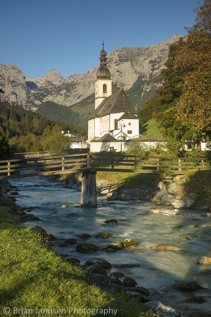 St Sebastian Church, Ramsau bei Berchtesgaden, Bavaria, Germany. © Brian Jannsen Photography
