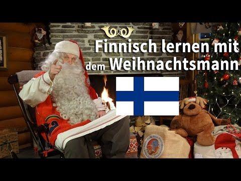 Finnisch lernen mit dem Weihnachtsmann