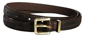 ASOS Skinny Smart Belt with Metal Keeper