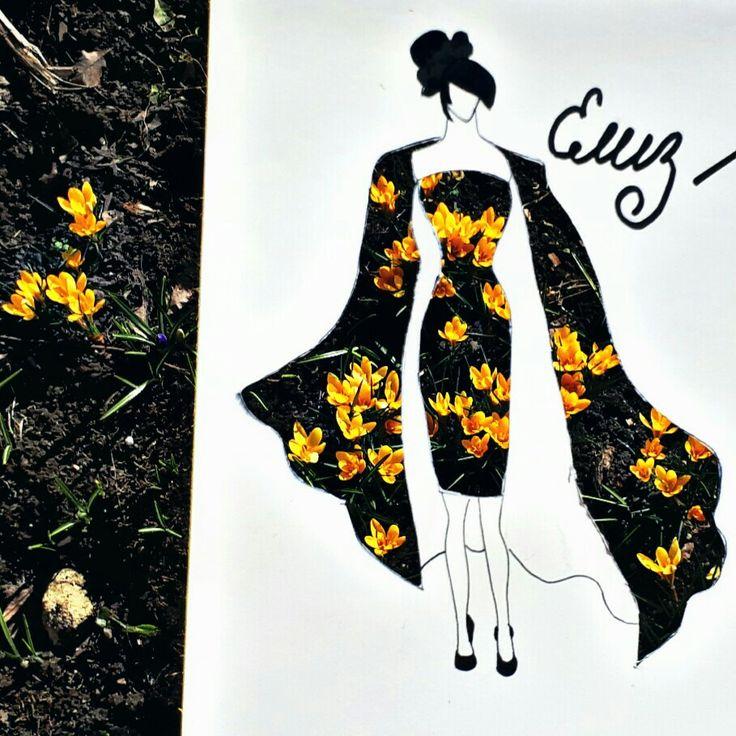 Платье природа мода