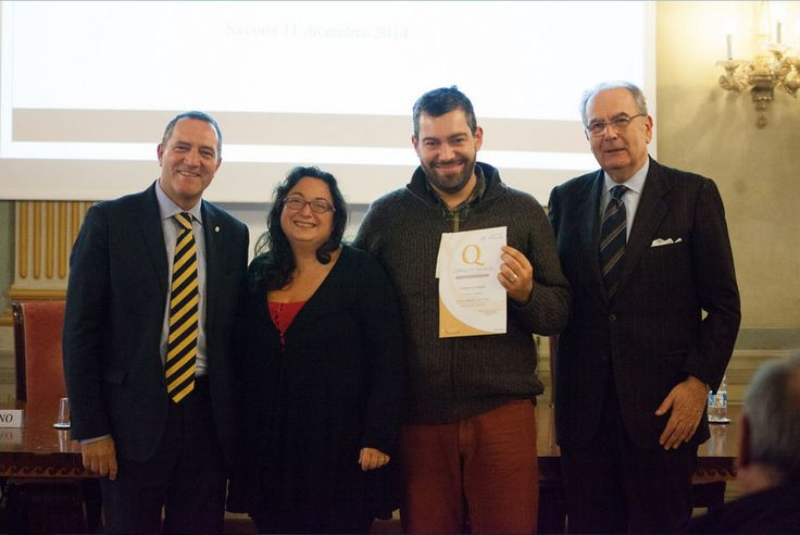 Cerimonia di premiazione marchio Ospitalità Italiana, Savona, 11 dicembre 2014.