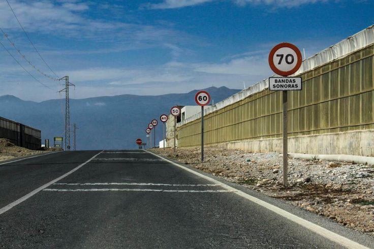 On the road – Autofahren in Andalusien