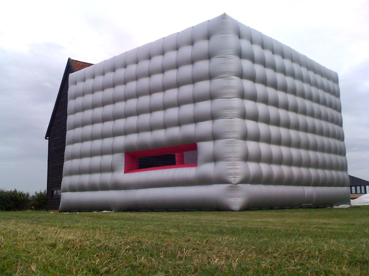 #OUTDOORS #INFLATABLE #CUBE  #Inflatable #Temporary #Structure #Events http://www.brandinteractivation.com/