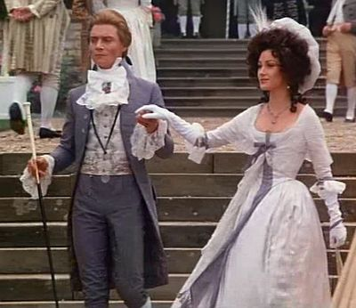 Anthony Andrews as Lord Percy Blakeney in 'The Scarlet Pimpernel' with Jane Seymour. (I loved him in this)