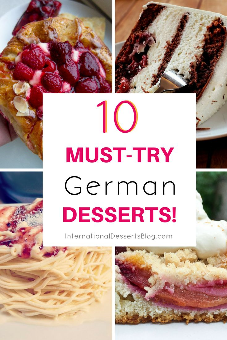 10 Must Try German Desserts Amp Sweet Treats Dessert