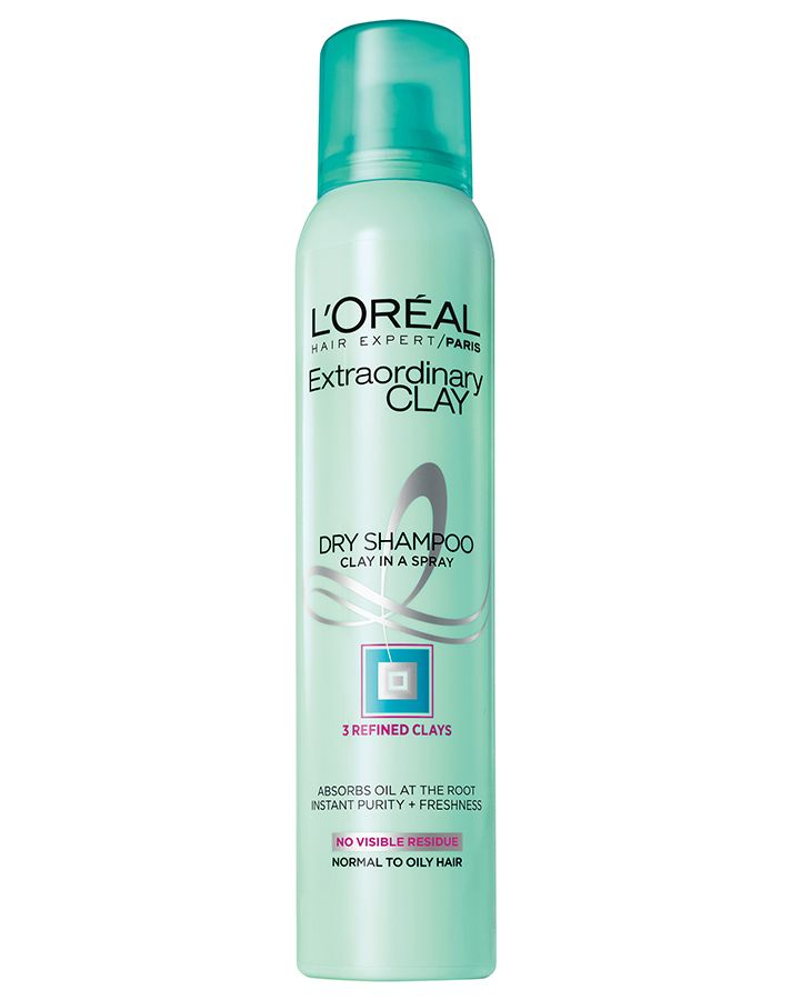 loreal extraordinary clay dry shampoo This New $7 Dry Shampoo Truly Transformed My Hair
