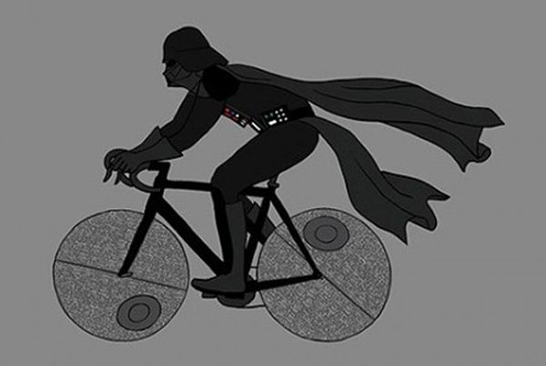 Mike Joos – Superheroes on Bicycles » Design You Trust – Social design inspiration!