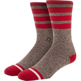 @stancesocks Sock Monkey in Brown & Red, $15.00 CAD.   Now your sock monkey can take you anywhere you want. Literally. They're with you EVERYWHERE you go.  • Self-adjusting welt cuff • Elastic arch band • Mesh vents • Seamless toe closure • Y gore seam • Deep heel pocket  Contents - 82% combed cotton 12% polyester 6% spandex  #TeKoopBags #TeKoop #StanceSocks #stance #Sockmonkey