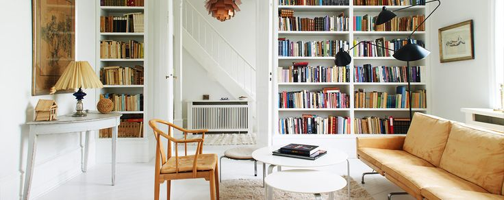 Scandinavian Library Collection at 1stdibs