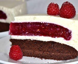 Fotopostup: Malinová torta – rozprávka