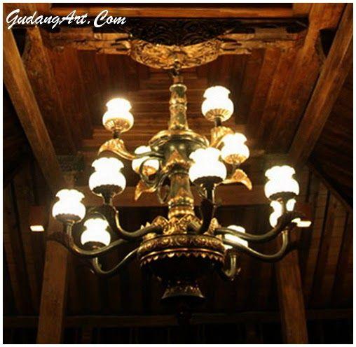 Lampu gantung Antique Style Material tembaga